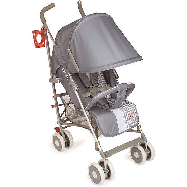 Купить Коляска-трость Happy Baby CINDY Light Grey, Китай, серый, Унисекс