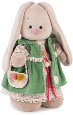 Мягкая игрушка Budi Basa Зайка Ми Зеленая полынь большая, 32 см, артикул:8333778 - Мягкие игрушки