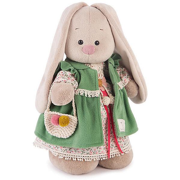 цена Budi Basa Мягкая игрушка Budi Basa Зайка Ми Зеленая полынь большая, 32 см