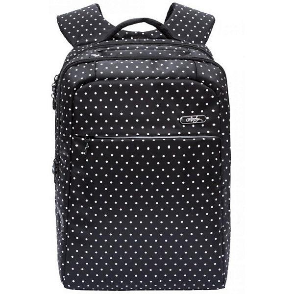 Рюкзак Grizzly, чёрныйРюкзаки<br>Характеристики:<br><br>• молодежный рюкзак;<br>• жесткая анатомическая спинка;<br>• нагрудная стяжка-фиксатор<br>• мягкая укрепленная ручка;<br>• укрепленные лямки;<br>• уплотненное дно;<br>• тип застежки: молния;<br>• светоотражающие элементы;<br>• вмещает формат А4;<br>• материал: полиэстер;<br>• размер рюкзака: 28х40х16 см;<br>• вес: 675 г.<br><br>Молодежный рюкзак имеет два отделения, карман на молнии на передней стенке, внутренний карман на молнии, внутренний карман-пенал для карандашей, внутренний укрепленный карман для ноутбука, карман быстрого доступа в верхней части рюкзака. <br><br>Рюкзак с анатомической спинкой и нагрудной стяжкой-фиксатором позволяет распределить нагрузку равномерно вдоль позвоночника. Рюкзак с дополнительными карманами дает возможность распределить вещи таким образом, чтобы все содержимое находилось под рукой. <br><br>Grizzly Рюкзак черный можно купить в нашем интернет-магазине.<br>Ширина мм: 280; Глубина мм: 40; Высота мм: 400; Вес г: 675; Цвет: черный; Возраст от месяцев: 144; Возраст до месяцев: 2147483647; Пол: Женский; Возраст: Детский; SKU: 8333928;