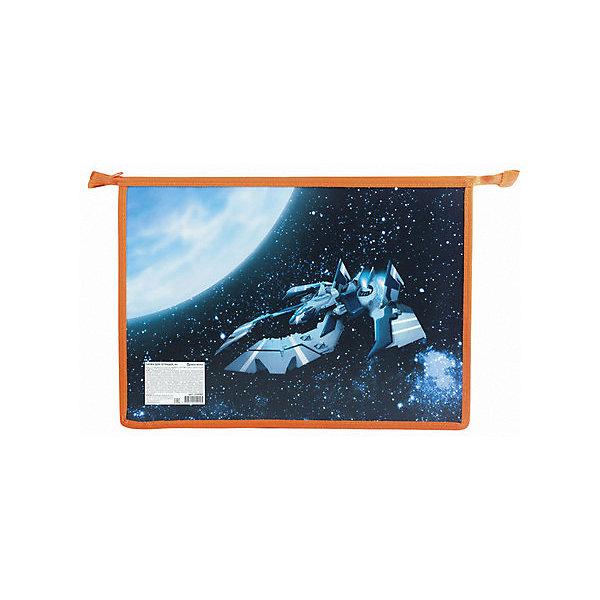 Папка для тетрадей Brauberg Космолет, А4Папки для тетрадей<br>Характеристики:<br><br>• папка для тетрадей;<br>• тип застежки: молния;<br>• оригинальный принт;<br>• материал: пластик, текстиль;<br>• размер папки: 33х23 см;<br>• вес: 105 г.<br><br>Пластиковая папка для тетрадей используется для переноски и хранения школьных тетрадей. Вмещает в себя рабочие тетради и альбомы формата А4. Папка с цветной печатью украшена оригинальным принтом. <br><br>Папка для тетрадей Brauberg «Космолет», А4 можно купить в нашем интернет-магазине.<br>Ширина мм: 230; Глубина мм: 330; Высота мм: 7; Вес г: 110; Цвет: голубой; Возраст от месяцев: 84; Возраст до месяцев: 120; Пол: Мужской; Возраст: Детский; SKU: 8334054;