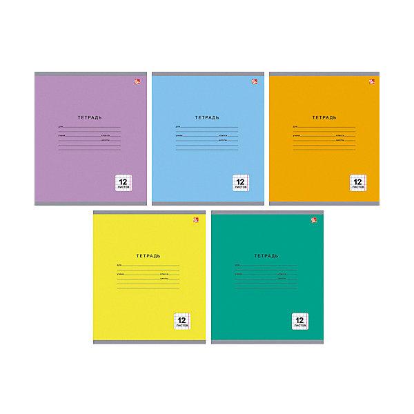 Комплект тетрадей Канц-Эксмо Однотонная серия, 10 шт., в крупную клеткуТетради<br>Характеристики:<br><br>• возраст: от 6 лет;<br>• формат: А5;<br>• внутренний блок: 12 листов, клетка, с полями;<br>• тип крепления: скрепка;<br>• количество в комплекте: 10 шт;<br>• плотность бумаги: 60 гр/кв.м;<br>• тип обложки: импортный мелованный картон 190 гр/кв.м;<br>• рисунок обложки: мульти;<br>• размер упаковки: 20х16,3х2 см;<br>• вес в упаковке: 390 гр;<br>• страна бренда: Россия.<br><br>Комплект тетрадей Канц-Эксмо «Однотонная серия» состоит из 10 тетрадей формата А5. Внутренний блок на скрепках, листы в клетку, с полями. Обложки выполнены из мелованного картона.<br><br>Комплект тетрадей Канц-Эксмо «Однотонная серия» А5, 10 шт., в крупную клетку можно купить в нашем интернет-магазине.<br>Ширина мм: 200; Глубина мм: 163; Высота мм: 20; Вес г: 390; Цвет: разноцветный; Возраст от месяцев: 72; Возраст до месяцев: 2147483647; Пол: Унисекс; Возраст: Детский; SKU: 8334084;