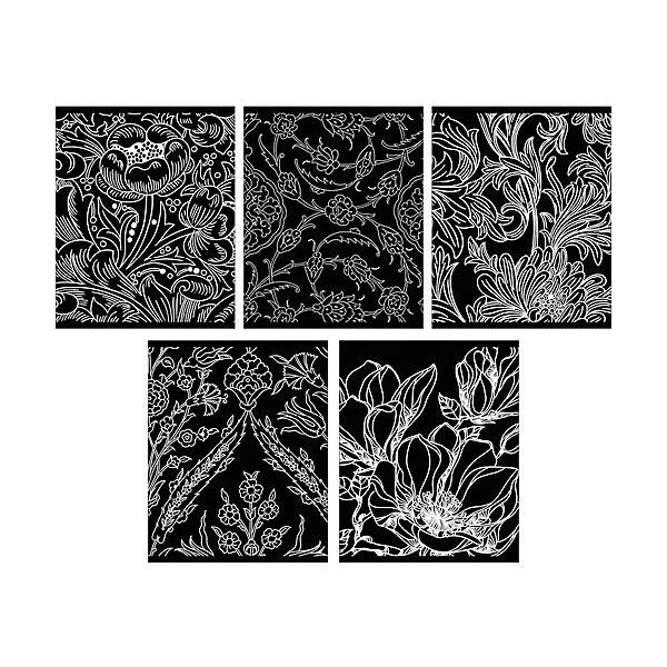 Канц-Эксмо Комплект тетрадей Канц-Эксмо Морозные узоры, 5 шт., клетка россия ёлочная игрушка снегурочка морозные узоры