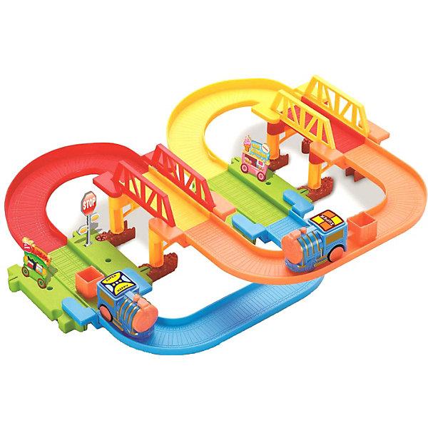 Devik Toys Железная дорога Devik Toys с поездом devik toys набор машинок devik toys строительная техника
