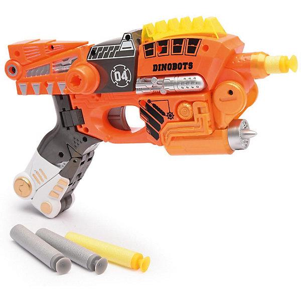 Купить Игровой набор Devik Toys Пистолет-робот 2 в 1 Велоцираптор , с 6 мягкими патронами, Китай, разноцветный, Мужской