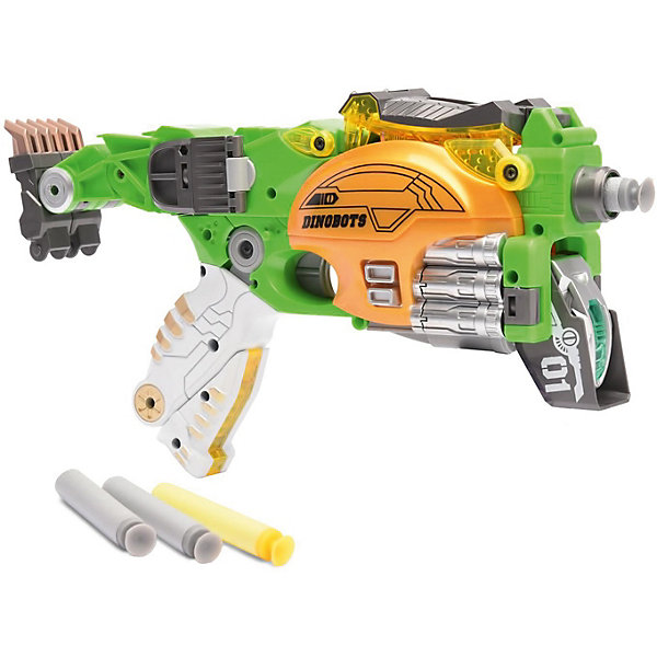 Купить Игровой набор Devik Toys Пистолет-робот 2 в 1 Стегозавр , с 6 мягкими патронами, Китай, разноцветный, Мужской