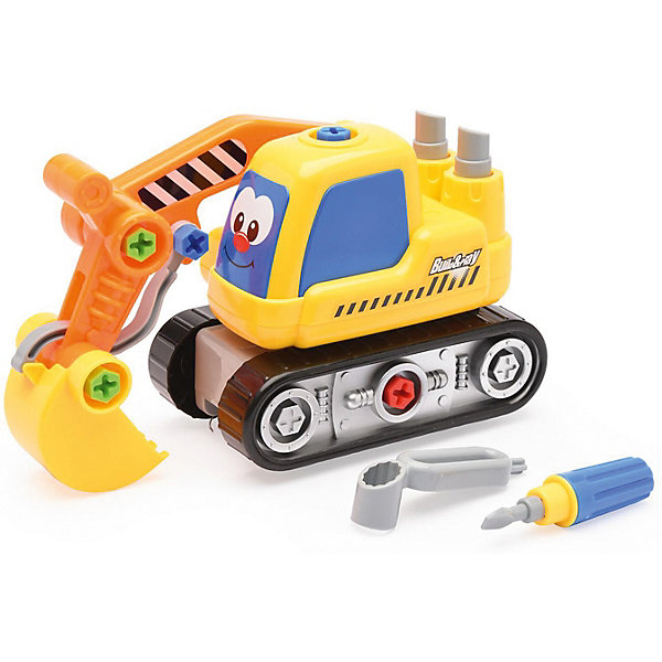 Devik Toys Машинка Devik Toys Экскаватор разборный devik toys набор машинок devik toys строительная техника