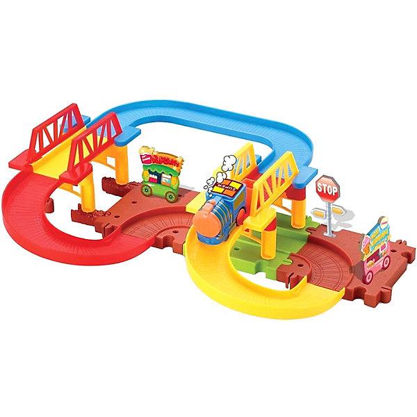 Devik Toys Железная дорога Devik Toys с поездом