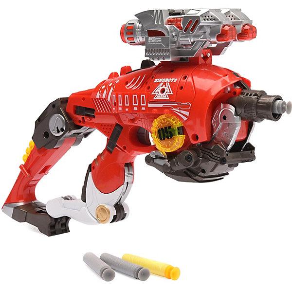 Купить Игровой набор Devik Toys Пистолет-робот 2 в 1 Тираннозавр , с 10 мягкими патронами, Китай, разноцветный, Мужской