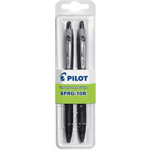 Pilot Шариковые ручки 0,7 мм 2 шт, чёрные