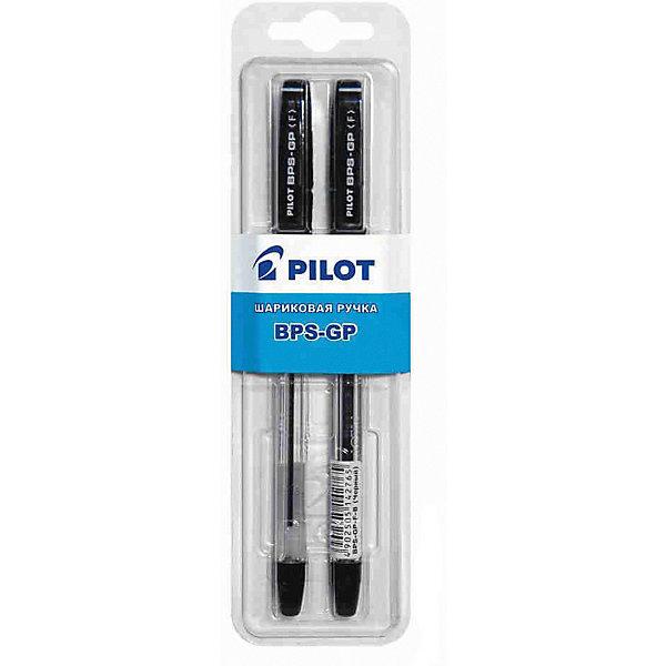 Pilot Шариковые ручки Pilot 0,7 мм 2 шт, чёрные pilot набор стержней для шариковой ручки bps gp цвет черный 12 шт fj gp m b 12