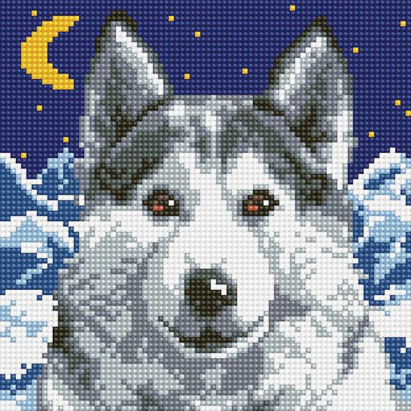 Белоснежка Алмазная мозаика Белоснежка «Вожак», 20х20 см