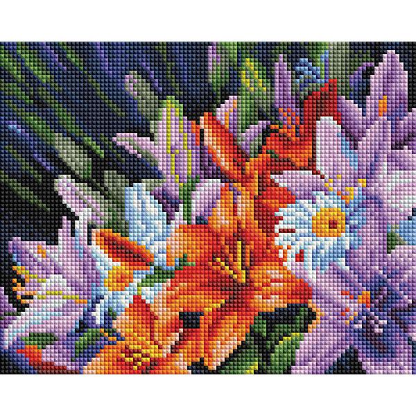Белоснежка Алмазная мозаика Белоснежка «Лилии из сада», 20х25 см