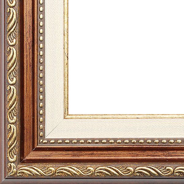 Белоснежка Багетная рама Белоснежка «Bridget», 30x40 см рама багетная белоснежка bella цвет серебряный золотой 30 х 40 см