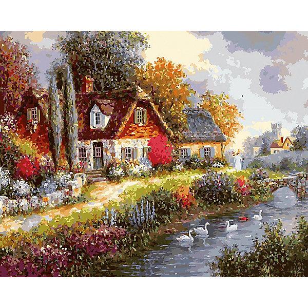 Белоснежка Картина по номерам «Летний день», 40x50 см