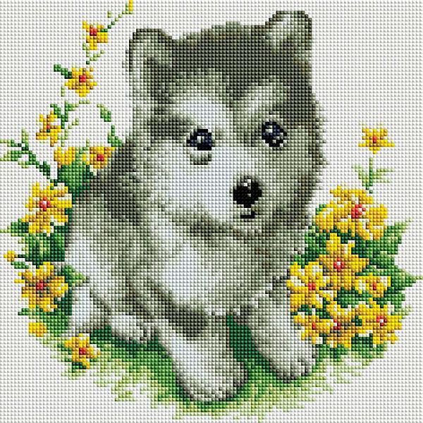 Белоснежка Алмазная мозаика Белоснежка «Я буду тебя охранять», 30х30 см