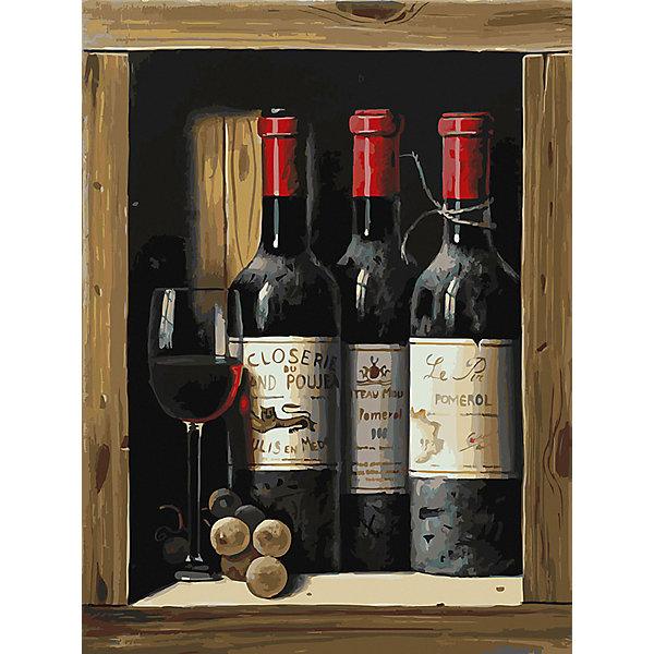 Купить Картина по номерам Белоснежка «Коллекционное вино», 30x40 см, Китай, Унисекс