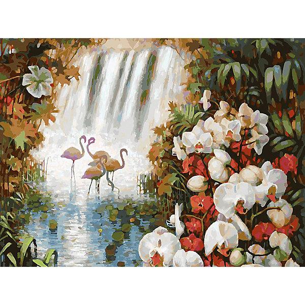 Белоснежка Картина по номерам «Райский сад», 30x40 см