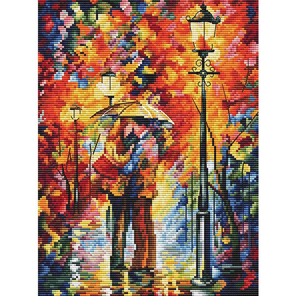 Белоснежка Набор для вышивания «Поцелуй под дождем», 27х35 см