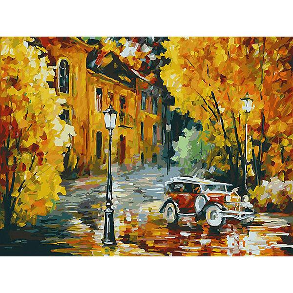 Белоснежка Картина по номерам «Город», 30x40 см