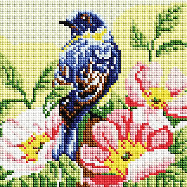 Белоснежка Алмазная мозаика Белоснежка «Птичка», 20х20 см