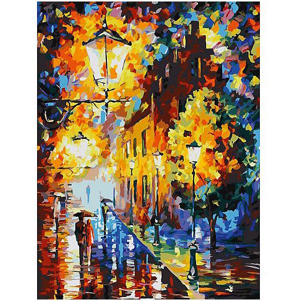Белоснежка Картина по номерам Белоснежка «Огни в ночи», 30x40 см белоснежка картина по номерам белоснежка по водной глади 30x40 см