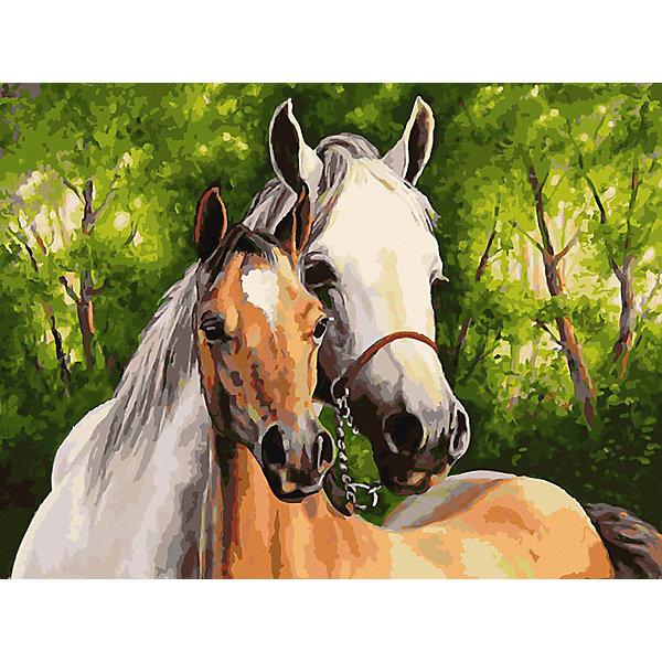 Белоснежка Картина по номерам «Мать и дитя», 30x40 см