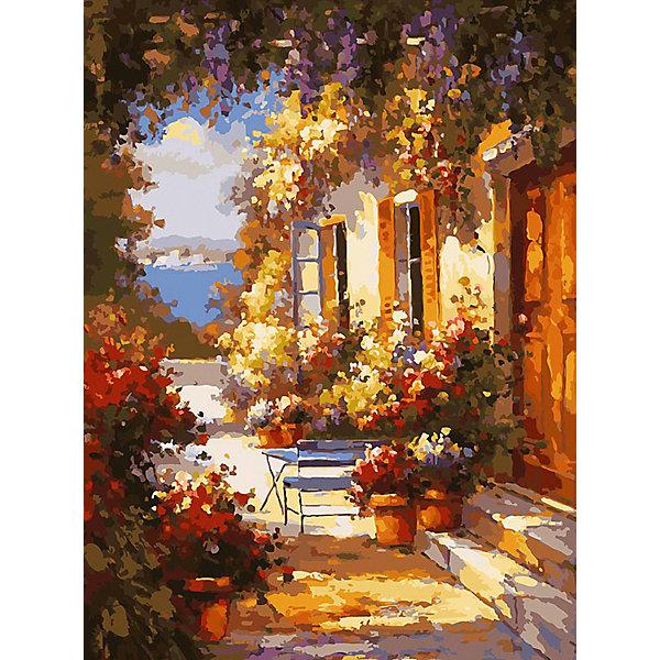 Белоснежка Картина по номерам «Летнее утро», 30x40 см