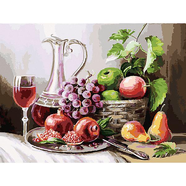 Белоснежка Картина по номерам Белоснежка «Натюрморт с фруктами», 30x40 см