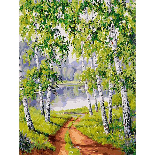 Купить Картина по номерам Белоснежка «Из рощи», 30x40 см, Китай, Унисекс