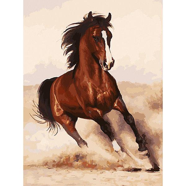 Белоснежка Картина по номерам «Галоп», 30x40 см