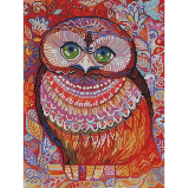 Белоснежка Алмазная мозаика Белоснежка «Медовая сова», 30х40 см медовая сова