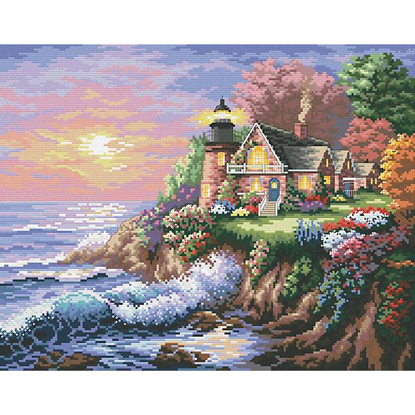 Белоснежка Набор для вышивания Белоснежка «Шумный берег», 37х45 см набор для творчества белоснежка картина со стразами красная роза 30 30см