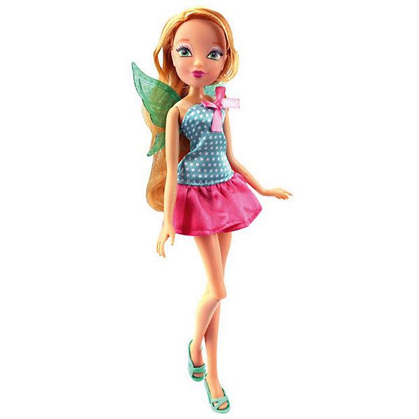 Кукла Winx Club Модный повар Флора, 28 смКуклы модели<br>Характеристики товара:<br><br>• возраст: от 5 лет;<br>• комплект: кукла в одежде и обуви, поварская шапочка и крылышки для куклы;<br>• высота куклы: 29 см.;<br>• материал: пластик;<br>• упаковка: блистер на картоне;<br>• размер упаковки: 34 x 13 x 6 см..;<br>• вес: 200 гр.;<br>• наименование бренда: Winx Club;<br><br>Очаровательная шарнирная кукла Winx Club «Модный повар - Флора» станет приятным сюрпризом для всех юных поклонниц знаменитого мультфильма Winx Club. На этот раз одна из главных героинь мультика решила попробовать себя в новом амплуа, а именно - стать поваром и создать собственный кулинарный шедевр. Чтобы эта красавица смогла полностью погрузиться в увлекательный процесс создания блюд, в комплект также входит колпак - неотъемлемый атрибут каждого повара!<br><br>Игрушка разнообразит игры по мотивам мультсериала, стимулирует фантазию и удерживает внимание длительное время. Кукла является одной из самых развивающих игрушек. Игра с куклой способствует развитию эмоциональной сферы ребенка. <br><br>Куклы Винкс проходят строгий контроль качества на фабриках производителя. В производстве используются экологически безопасные материалы. Весь товар сертифицирован и не представляет абсолютно никакой опасности как для детей, так и для взрослых.<br><br>Куклу «Модный повар - Флора», 29 см., Winx Club можно купить в нашем интернет-магазине.<br>Ширина мм: 360; Глубина мм: 250; Высота мм: 340; Вес г: 2150; Возраст от месяцев: 36; Возраст до месяцев: 60; Пол: Женский; Возраст: Детский; SKU: 8334944;