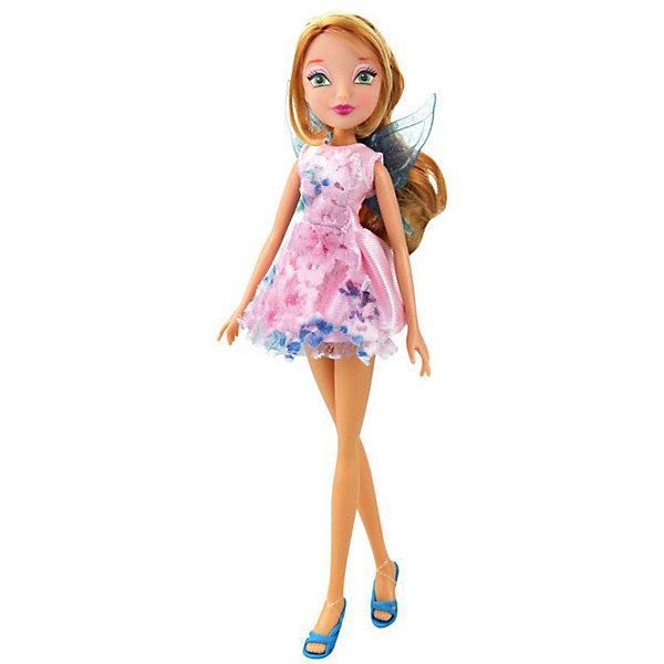 Winx Club Кукла Winx Club Магическое сияние Флора, 28 см кукла winx club fairy summer кружева флора iw01171400