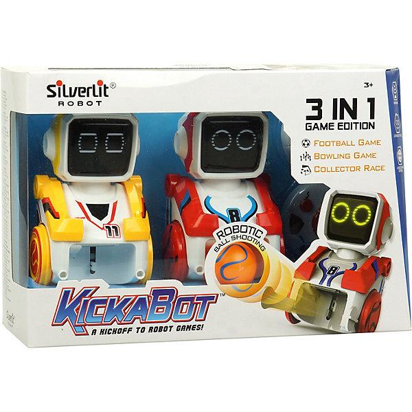 Silverlit Роботы-футболисты Silverit Кикабот Двойной набор робот silverlit футболист кикабот одиночный набор 88548