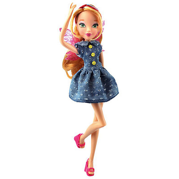 Winx Club Кукла Winx Club Стильная штучка Флора, 28 см winx club сумка детская 62462