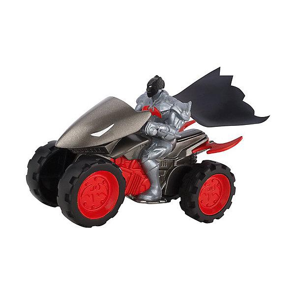 Mattel Транспортное средство DC Super Heroes Квадроцикл Бетмена, 15 см