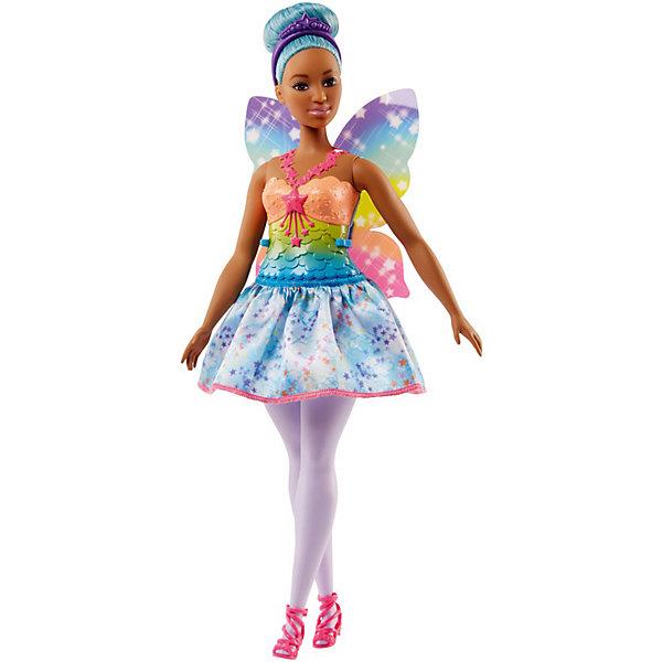 Купить Кукла Barbie Dreamtopia Волшебные Феи с голубыми волосами, 29 см, Mattel, Индонезия, Женский