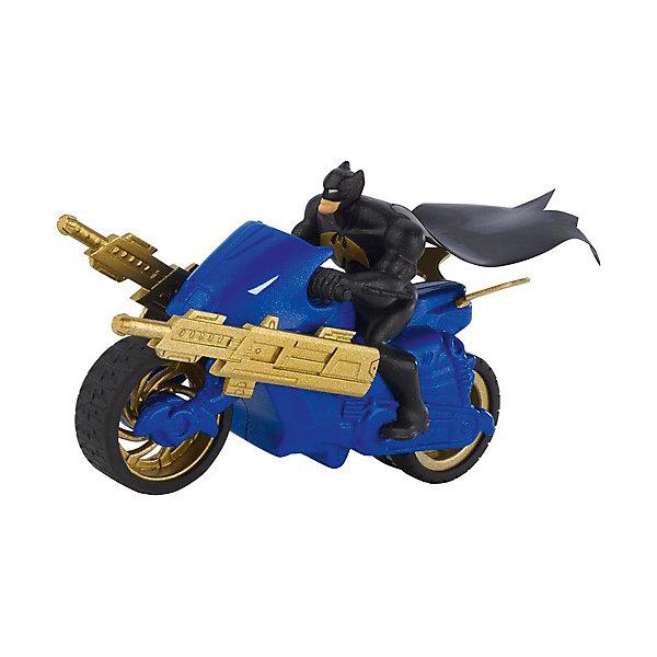 Mattel Транспортное средство DC Super Heroes Мотоцикл Бетмена, 15 см цена и фото