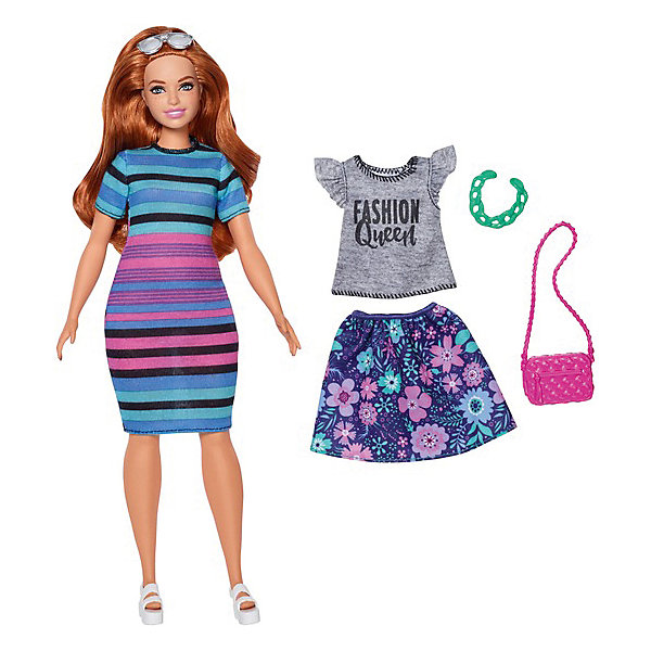 Mattel Кукла Barbie Игра с модой Happy Hued Doll, 29 см henry sanderson china s superbank debt oil and influence how china development bank is rewriting the rules of finance