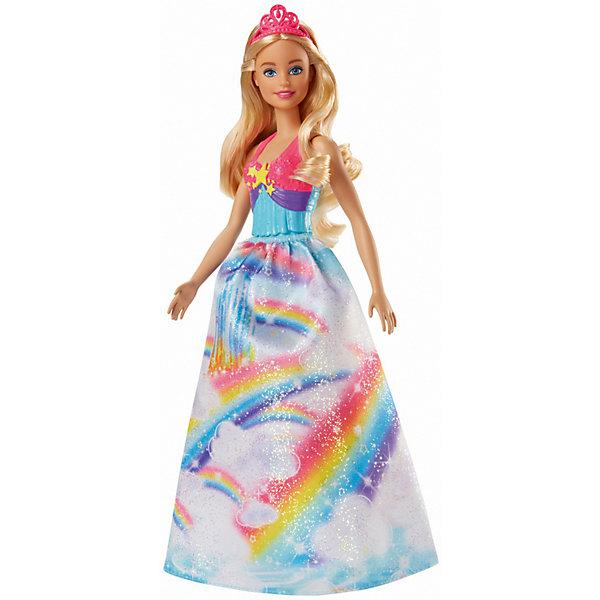 Купить Кукла Barbie Dreamtopia Волшебные принцессы Радужное королевство Свитвиль, 29 см, Mattel, Индонезия, Женский