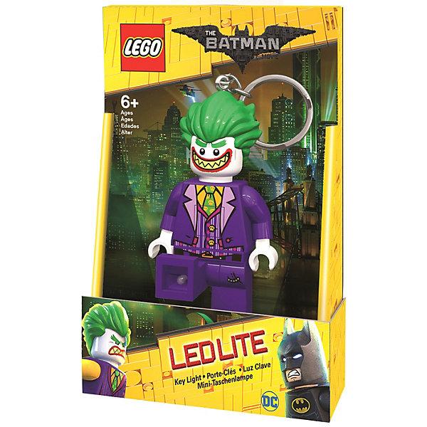 LEGO Брелок-фонарик для ключей LEGO Batman Movie, Joker брелоки lego брелок фонарик для ключей lego batman movie лего фильм бэтмен joker