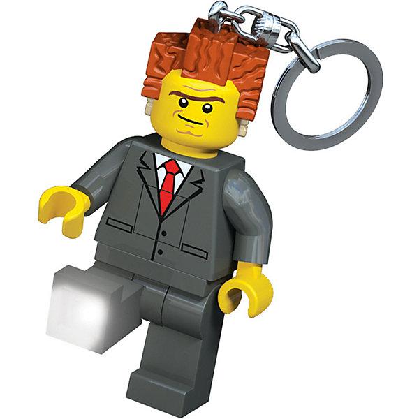 LEGO Брелок-фонарик для ключей LEGO Movie President Business фонарик ночник lego cragger