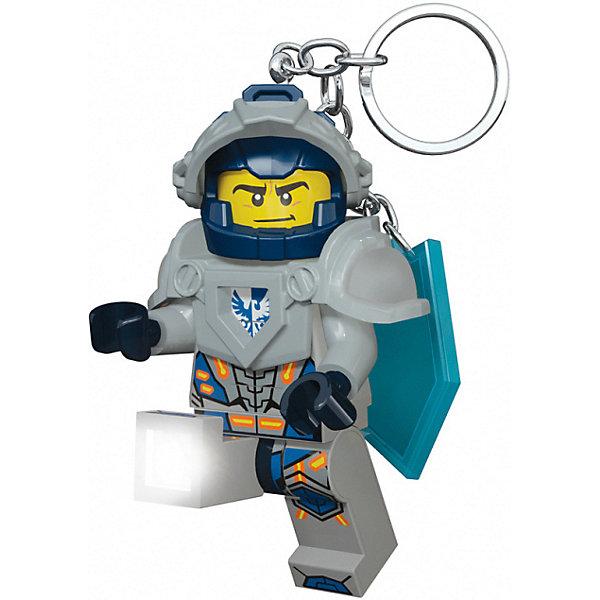 LEGO Брелок-фонарик для ключей LEGO Nexo Knights Clay usb перезаряжаемый высокой яркости ударопрочный фонарик дальнего света конвой sos факел мощный самозащита 18650 батареи