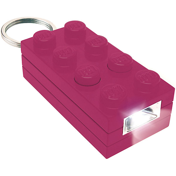 LEGO Брелок-фонарик для ключей LEGO Friends лиловый массажное масло dona scented massage oil naughty aroma sinful spring 125 мл