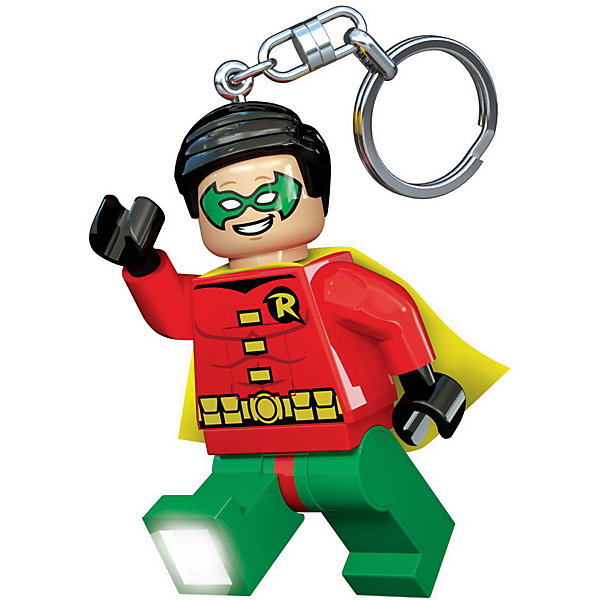 LEGO Брелок-фонарик для ключей Super Heroes, Robin