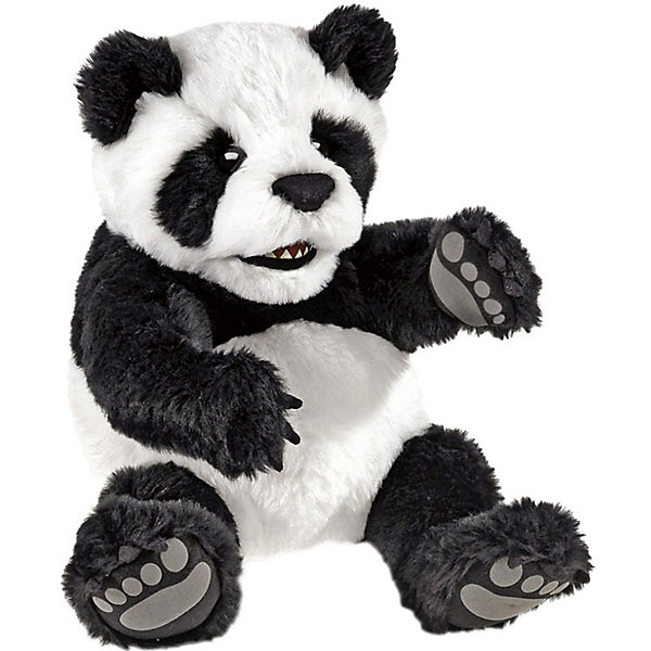Folkmanis Мягкая игрушка на руку Folkmanis Детеныш панды, 23 см у кого какой детеныш книжка игрушка