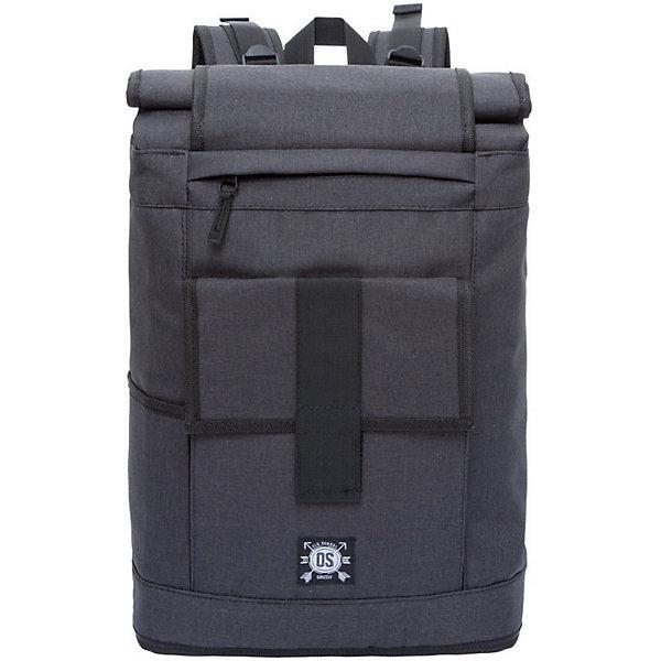 Рюкзак Grizzly, чёрныйРюкзаки<br>Характеристики:<br><br>• возраст от: 10 лет;<br>• цвет: черный;<br>• материал: полиэстер;<br>• размер рюкзака: 30х46(59)х16 см.;<br>• объем рюкзака: большой (более 30 л.);<br>• вес рюкзака: 900 гр.;<br>• тип рюкзака: повседневный, городской;<br>• ососбенности: вставка-трансформер для увеличения объема рюкзака;<br>• спинка: жёсткая вставка;<br>• тип застёжки: липучки;<br>• количество отделений: 1 основное отделение;<br>• количество карманов: 6 внешних/ 2 внутренних;<br>• дополнительная ручка-петля;<br>• износостойкая обивка выдержит любую погоду и прослужит не один год;<br>• регулируемые укрепленные лямки;<br>• стильный дизайн;<br>• бренд, страна бренда: Grizzly, Россия.<br><br>Городской рюкзак Grizzly выполнен из высококачественного плотного полиэстера и оформлен фирменной нашивкой. Снабжен вставкой-трансформером для увеличения объема рюкзака. На лицевой стороне расположен объемный карман, закрывающийся клапаном с хлястиком на застежку-липучку. Также на лицевой стороне расположены два небольших кармана на молнии. На боковых сторона расположены карман для переноски бутылки с водой и вшитый карман на молнии. Рюкзак имеет петлю для подвешивания и две удобные лямки, длина которых регулируется с помощью пряжек. Также рюкзак оснащен регулируемым грудным ремнем, который фиксируется с помощью застежки-фастекса. Изделие застегивается на застежку-липучку. Внутри расположено главное вместительное отделение, которое содержит вшитый карман на молнии для мелочей и мягкий карман для ноутбука, который застегивается хлястиком на застежку-липучку.<br><br>Рюкзак выполнен в практичном черном цвете и станет верным, удобным и функциональным спутником во время путешествий и повседневной носки на каждый день.<br><br>Рюкзак Grizzly,черный, можно купить в нашем интернет-магазине.<br>Ширина мм: 300; Глубина мм: 40; Высота мм: 460; Вес г: 902; Цвет: черный; Возраст от месяцев: 120; Возраст до месяцев: 2147483647; Пол: Мужской; Возраст: Детский; SKU: 8339096;