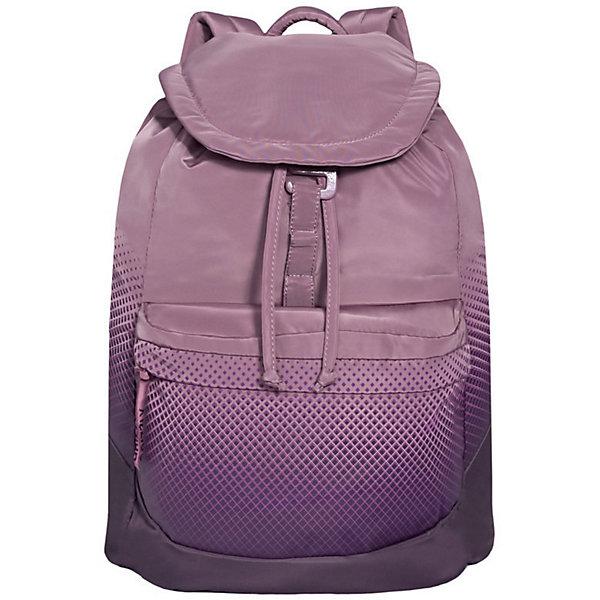 Рюкзак Grizzly, пурпурныйРюкзаки<br>Характеристики:<br><br>• возраст от: 10 лет;<br>• цвет: пурпурный;<br>• материал: полиэстер;<br>• размер рюкзака: 31х40х17 см.;<br>• объем рюкзака: средний (20 -30 л.);<br>• вес рюкзака: 410 гр.;<br>• тип рюкзака: повседневный, городской;<br>• спинка: укрепленная;<br>• тип застёжки: шнурок-утяжка, клапан клапан на пряжке-крючке;<br>• количество отделений: 1 отделение;<br>• количество карманов: 2 внешний/ 1 внутренний;<br>• дополнительная ручка-петля;<br>• износостойкая обивка;<br>• регулируемые укрепленные лямки;<br>• стильный дизайн;<br>• бренд, страна бренда: Grizzly, Россия.<br><br>Рюкзак Grizzly  выполнен из высококачественного полиэстера, который не пропускает воду. Изделие оформлено оригинальным принтом. На лицевой стороне расположен объемный накладной карман на молнии. На тыльной стороне расположен вшитый карман на молнии. Рюкзак оснащен петлей для подвешивания и двумя удобными лямками, длина которых регулируется с помощью пряжек. Изделие закрывается клапаном на металлический крючок. Внутри расположено главное отделение, закрывающееся с помощью затягивающегося шнурка. Главное отделение содержит один открытый накладной карман и карман на молнии для мелочей.<br><br>Функциональный и удобный, легкий и вместительный - рюкзак Grizzly легко чистится и быстро сохнет.<br><br>Рюкзак Grizzly, пурпурный, можно купить в нашем интернет-магазине.<br>Ширина мм: 310; Глубина мм: 40; Высота мм: 400; Вес г: 410; Цвет: лиловый; Возраст от месяцев: 120; Возраст до месяцев: 2147483647; Пол: Женский; Возраст: Детский; SKU: 8339174;